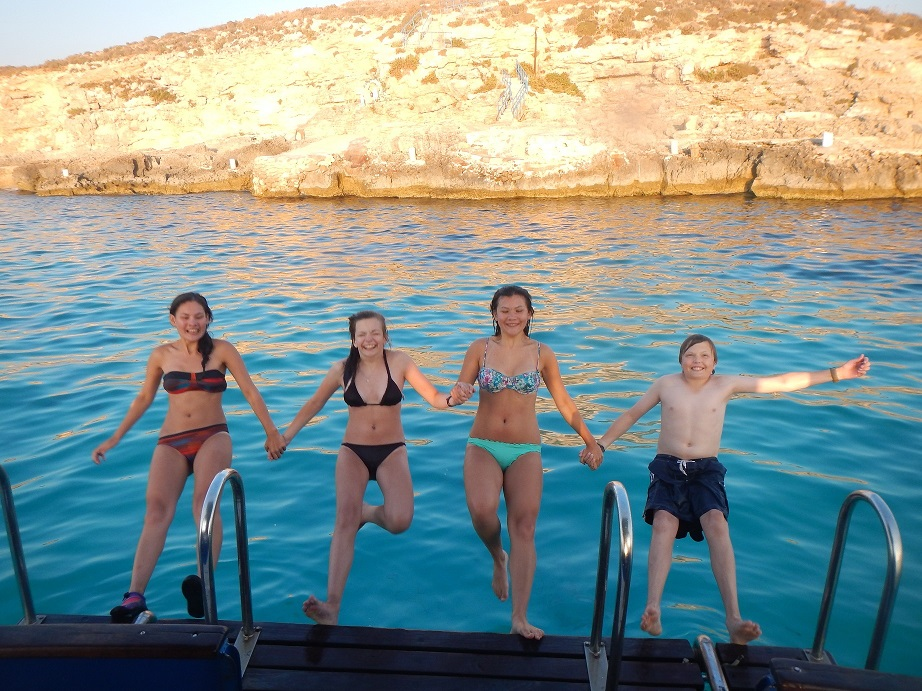 Gozo Dawn Gibson 30 Jul 13 Family