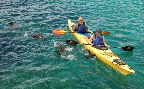 San Cristobal Sea Kayaking Credit Neotropic Expeditions