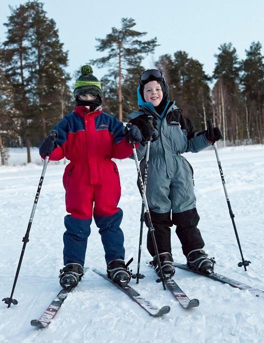 Skiing Saariselka Credit Markku Inkila