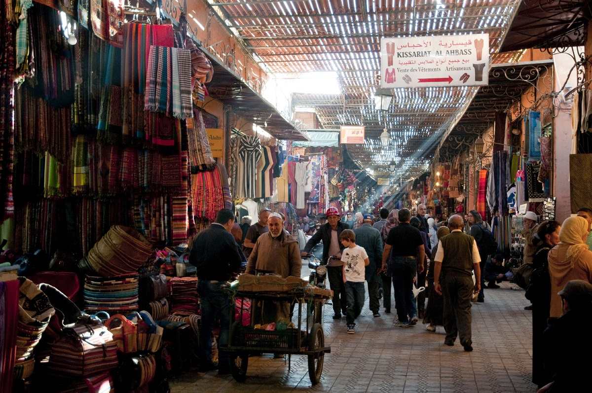 Souk Credit www.visitmorocco.comMoroccan National Tourist Office. 2
