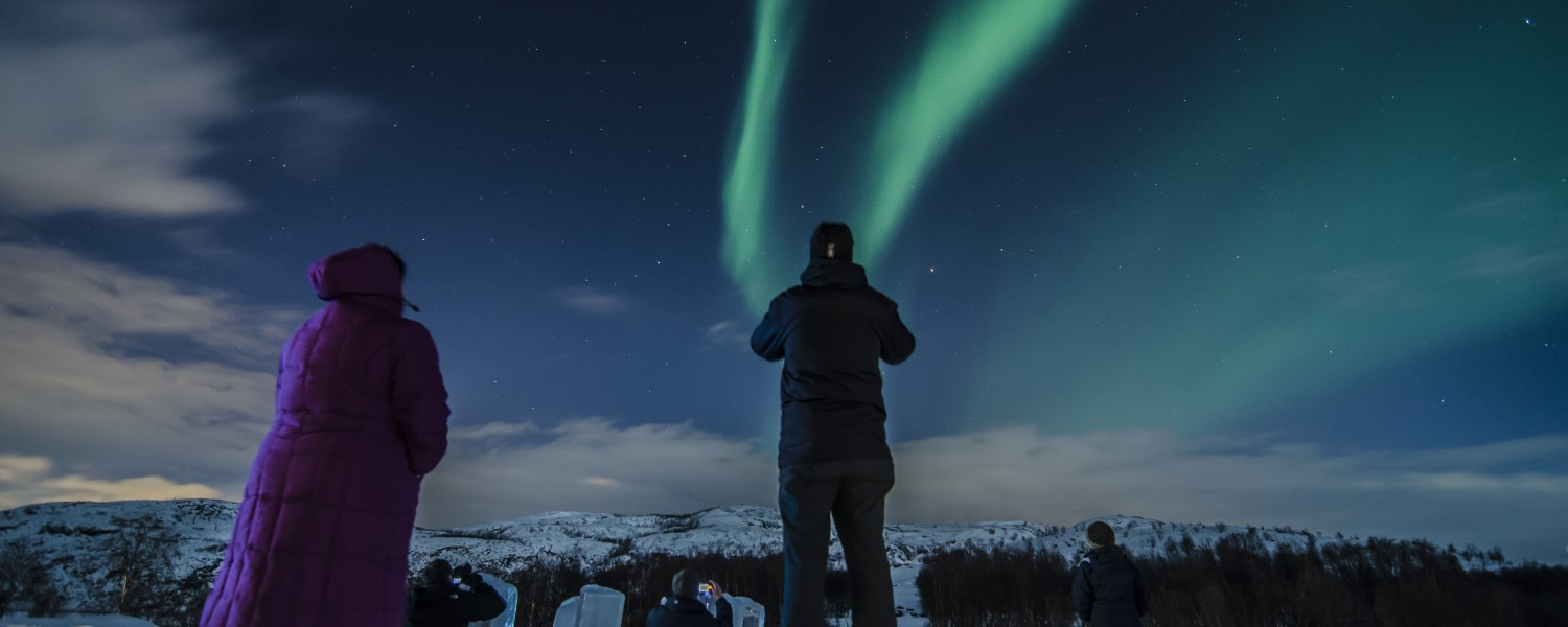 Northern Lights, Kirkenes, Norway, Credit - Kirkenes SnowHotel